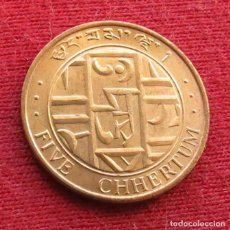 Monete antiche di Europa: BHUTÁN 5 CHHERTUM 1979 BUTAN. Lote 235371440