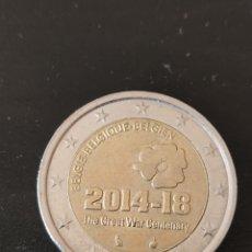 Monedas antiguas de Europa: 2 EUROS BÉLGICA 2014 18 CONMEMORACIÓN LA GRAN GUERRA. Lote 235473050