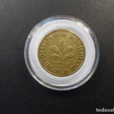 Monedas antiguas de Europa: 10 PFENNIG BUNDESREPUBLIK DEUTSCHALAND. BRONCE. AÑO 1950. CECA C. Lote 235809970