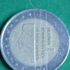Monedas antiguas de Europa: MONEDA 2 EUROS BEATRIX KONINGIN DER NEDERLANDEN 2001. Lote 235985400