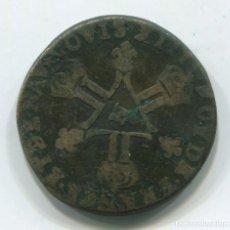 Monedas antiguas de Europa: FRANCIA. 6 DENIERS LUIS XIV (LOUIS XIIII), PARECE DE 1712.. Lote 236221980