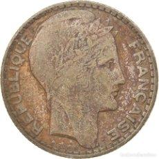Monedas antiguas de Europa: MONEDA, FRANCIA, TURIN, 10 FRANCS, 1930, PARIS, BC+, PLATA, KM:878, GADOURY:801. Lote 236369565