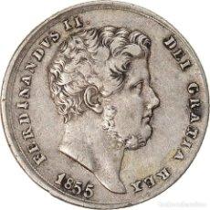 Monedas antiguas de Europa: MONEDA, ESTADOS ITALIANOS, NAPLES, FERDINANDO II, 20 GRANA, 1855, MBC, PLATA. Lote 236370385