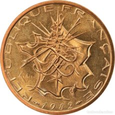 Monedas antiguas de Europa: MONEDA, FRANCIA, MATHIEU, 10 FRANCS, 1982, PARIS, FDC, NÍQUEL - LATÓN, KM:940. Lote 236370890
