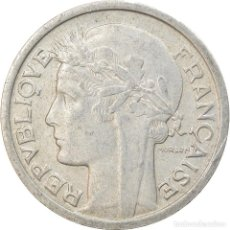 Monedas antiguas de Europa: MONEDA, FRANCIA, MORLON, FRANC, 1944, CASTELSARRASIN, MBC, ALUMINIO, KM:885A.3. Lote 236372040