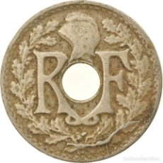 Monedas antiguas de Europa: MONEDA, FRANCIA, LINDAUER, 5 CENTIMES, 1920, PARIS, MBC, COBRE - NÍQUEL. Lote 236371305