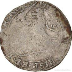 Monedas antiguas de Europa: MONEDA, PAÍSES BAJOS ESPAÑOLES, BRABANT, ESCALIN, 1629, BC+, PLATA. Lote 236372880
