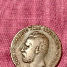 Monedas antiguas de Europa: P- 2 ORE 1861 CARL XV SUECIA. Lote 236536590