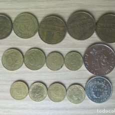 Monedas antiguas de Europa: LOTE 15 MONEDAS FRANCESAS FRANCS DIFERENTES AÑOS. Lote 236729755