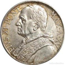 Monete antiche di Europa: CIUDAD DEL VATICANO. 10 LIRAS DE 1936 (PAPA PIO XI). EXTRAORDINARIA. (074).. Lote 202110350