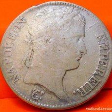 Monedas antiguas de Europa: FRANCIA, 5 FRANCOS, 1813 Q. NAPOLEÓN. PLATA. (754). Lote 236978245