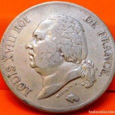 Monedas antiguas de Europa: FRANCIA, 5 FRANCOS, 1823 L. LUIS XVIII. PLATA. (757). Lote 236983965