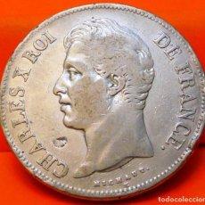 Monedas antiguas de Europa: FRANCIA, 5 FRANCOS, 1827 A. CARLOS X. PLATA. (758). Lote 236985690