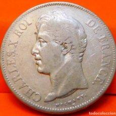 Monedas antiguas de Europa: FRANCIA, 5 FRANCOS, 1827 A. CARLOS X. PLATA. (759). Lote 236986785