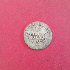 Monedas antiguas de Europa: 1 MARIEN GROSCH 1805. Lote 237047430