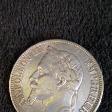 Monedas antiguas de Europa: 5 FRANCOS NAPOLEÓN III 1867. PLATA. Lote 237169475