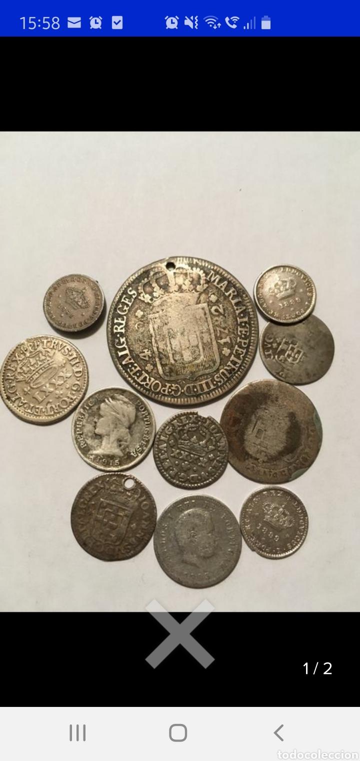 Monedas antiguas de Europa: Coleccion de 11 monedas portugal plata monarquía y República - Foto 2 - 238248010