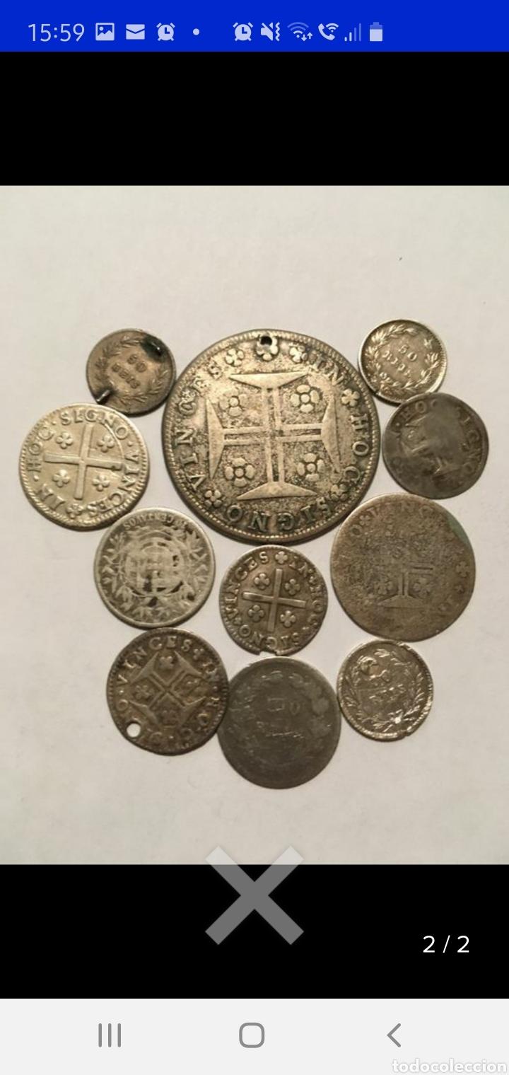 COLECCION DE 11 MONEDAS PORTUGAL PLATA MONARQUÍA Y REPÚBLICA (Numismática - Extranjeras - Europa)