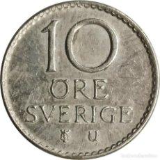 Monedas antiguas de Europa: SUECIA. MONEDA DE 10 ORE DE 1962 (REY GUSTAF VI ADOLF). KM# 835. (090).. Lote 238266235