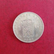 Monedas antiguas de Europa: 1 GULDEN DE ANTILLAS HOLANDESAS 1964. PLATA. Lote 239589235
