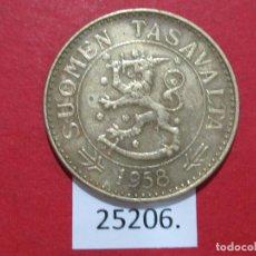 Monedas antiguas de Europa: FINLANDIA 50 MARCOS 1958. Lote 240954805