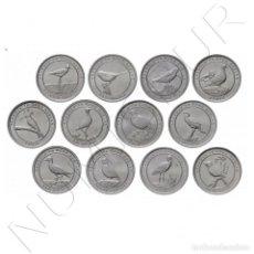 "Monedas antiguas de Europa: TURQUIA 1 KURUSH JUEGO DE MONEDAS TURQUÍA 2020 ""PÁJAROS DE ANTALYA"" (12 PIEZAS). Lote 240973435"
