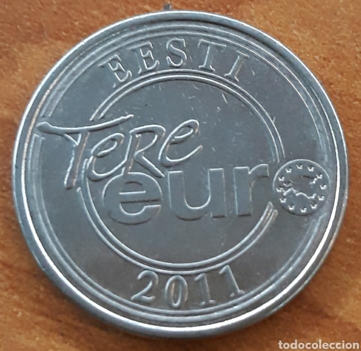 MONEDA ESTONIA PANK TERE EURO 2011 (Numismática - Extranjeras - Europa)