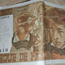 Monedas antiguas de Europa: BILLETES FRANCIA. Lote 241461445
