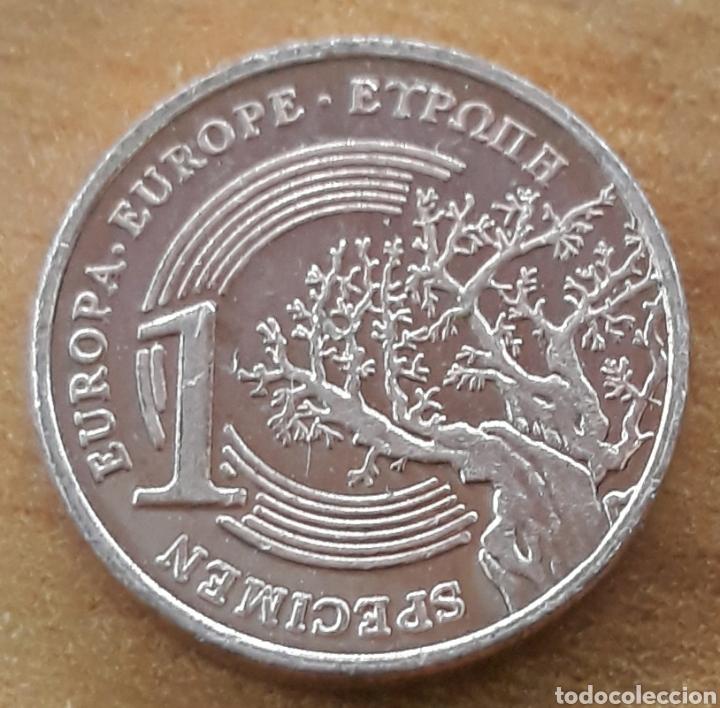 Monedas antiguas de Europa: Moneda Grecia narcissus specimen 1 centimo - Foto 2 - 242177880