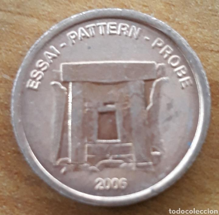 MONEDA 2 XEROS PRUEBA 2006 (Numismática - Extranjeras - Europa)
