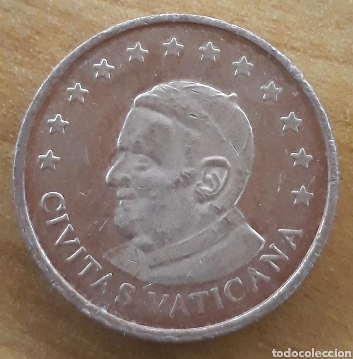 MONEDA CIVITAS VATICANA SPECIMEN 5 CÉNTIMOS (Numismática - Extranjeras - Europa)