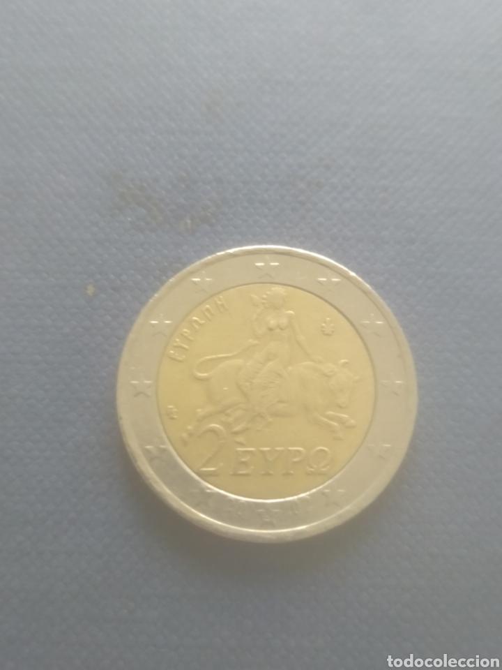2 EUROS GRECIA 2002 VARIANTE S (Numismática - Extranjeras - Europa)
