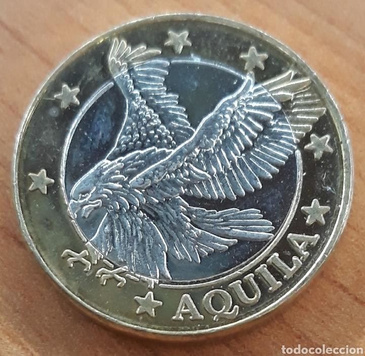 MONEDA GRECIA SPÉCIMEN EUROPA AQUILA (Numismática - Extranjeras - Europa)