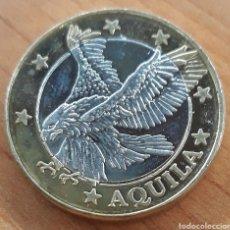 Monedas antiguas de Europa: MONEDA GRECIA SPÉCIMEN EUROPA AQUILA. Lote 242387410