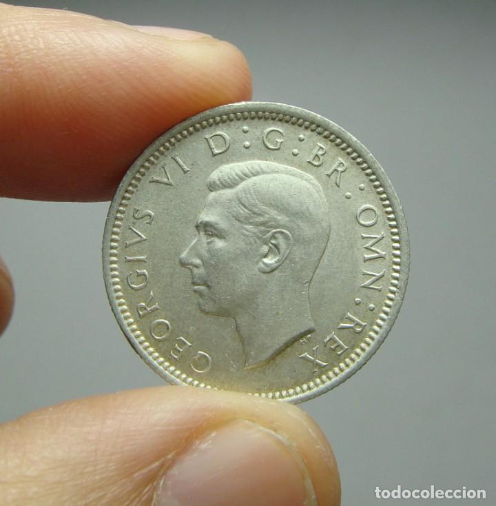 6 PENIQUES. PLATA. GEORGE VI. REINO UNIDO - 1943. SC (Numismática - Extranjeras - Europa)