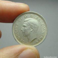 Monedas antiguas de Europa: 6 PENIQUES. PLATA. GEORGE VI. REINO UNIDO - 1943. SC. Lote 242479185
