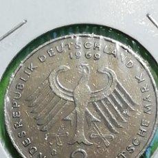 Monedas antiguas de Europa: ALEMANIA 2 MARK DE 1949. 1969 LETRA D. ADJUNTO PEDIDOS. Lote 242847675