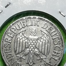 Monedas antiguas de Europa: ALEMANIA UN MARK DE 1956 LETRA G. ENCARTONADA. ADJUNTO PEDIDOS. Lote 242851755