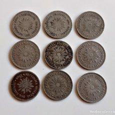 Monnaies anciennes de Europe: URUGUAY 1 CENTIMO 1901-1924 LOTE DE 6 MONEDAS. Lote 243041600