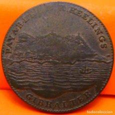 Monedas antiguas de Europa: GIBRALTAR, 2 QUARTOS, 1802. (887). Lote 243055435