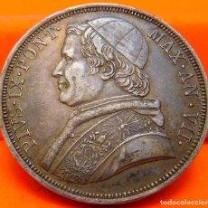 Monedas antiguas de Europa: VATICANO, SCUDO, 1853 R. PIO IX. PLATA. (890). Lote 243059325