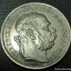Monedas antiguas de Europa: HUNGRIA - 1 KORONA 1895 SIN CIRCULAR S/C PLATA 835 . ¡¡¡¡LIQUIDACION COLECCION!!!!!. Lote 243179095
