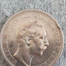 Monedas antiguas de Europa: MONEDA ANTIGUA 2 MARK 1907 A ALEMANIA PLATA. Lote 243350820