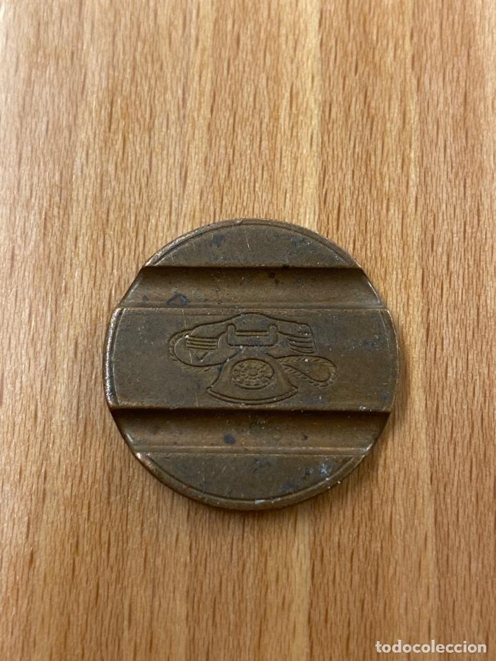 Monedas antiguas de Europa: Ficha Token Gettone telefonico marcada CMM - Foto 2 - 243589970