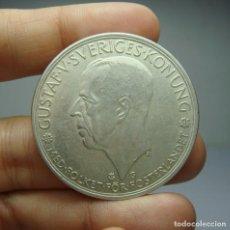 Monedas antiguas de Europa: 5 KRONOR. PLATA. GUSTAF V. SUECIA - 1935. Lote 243900510