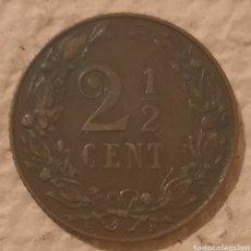 Monedas antiguas de Europa: HOLANDA. 2 1/2 CÉNTIMOS 1906. BONITO TONO MARRÓN.. Lote 244766650