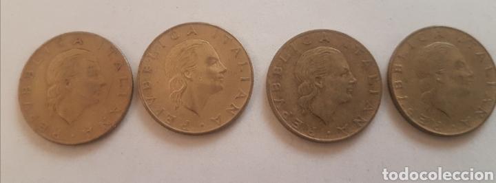 Monedas antiguas de Europa: Italia. Cuatro monedas de 200 liras. Años 1978, 79, 80 y 81 - Foto 2 - 244866165