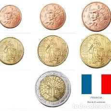 Monedas antiguas de Europa: SERIE FRANCIA 2019 7 VALORES (SC). Lote 244867180