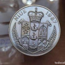 Monedas antiguas de Europa: NIUE5DÓLARES,1987 XXIV JUEGOS OLÍMPICOSDE VERANO, SEUL 1988 - TENIS, BORIS BECKER. Lote 245135310