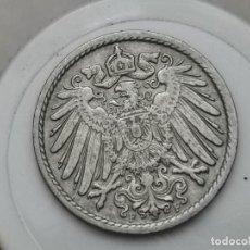 "Monedas antiguas de Europa: ALEMANIA5PENIQUES,1907 CECA ""F"" – STUTTGART. Lote 245135415"